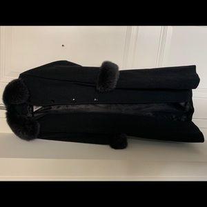 Marvin Richards womens winter black Fox Fur coat10